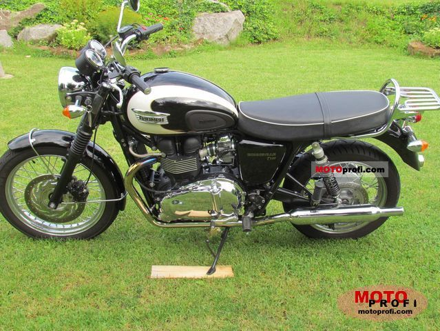 Triumph Bonneville T100 2010 photo