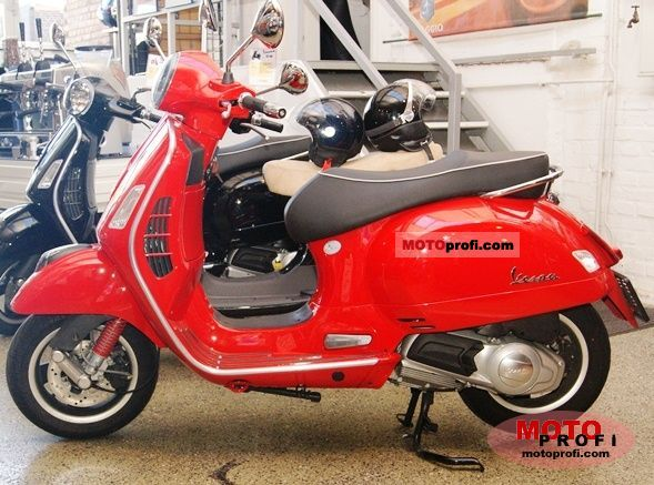 vespa gts 125 super 2010 specs and photos. Black Bedroom Furniture Sets. Home Design Ideas