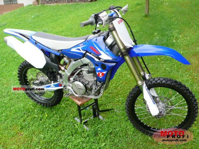 Yamaha YZ450F 2010 Specs and Photos