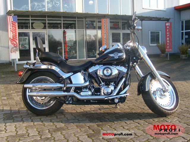 Harley-Davidson FLSTF Fat Boy 2011 photo