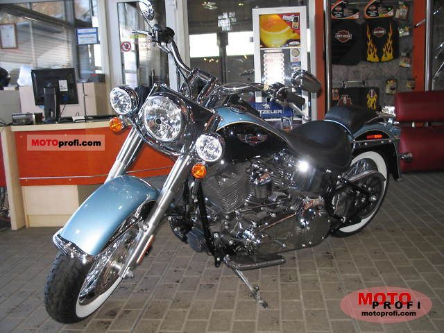 Harley-Davidson FLSTN Softail Deluxe 2011 photo