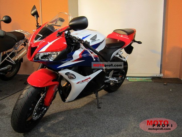 Honda Cbr600rr Abs 2011 Specs And Photos