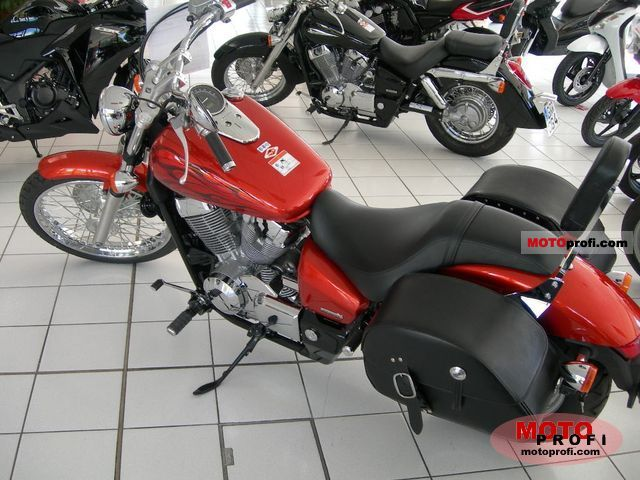 2005 Honda Shadow Spirit 750 Specifications And Pictures