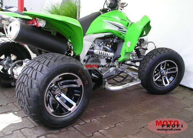 Kawasaki KFX 450R 2011 Specs and Photos