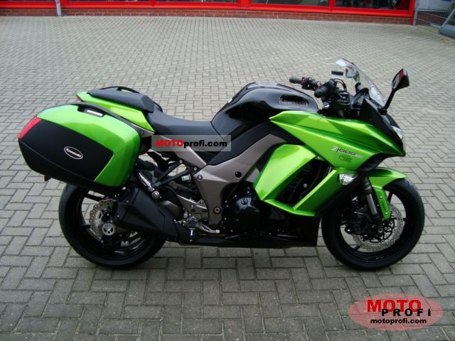 Kawasaki Z 1000 Sx Tourer 2011 Specs And Photos