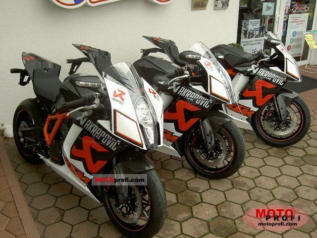 KTM 1190 RC8 R Akrapovic 2011 photo