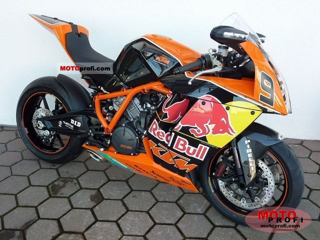 KTM 1190 RC8 R Red Bull 2011 photo
