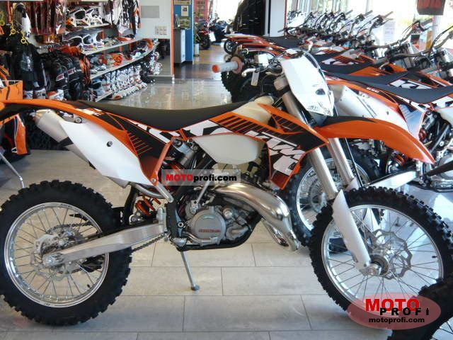 ktm 200 exc 2011 specs and photos
