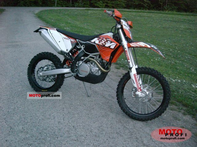 KTM 400 EXC 2011 photo
