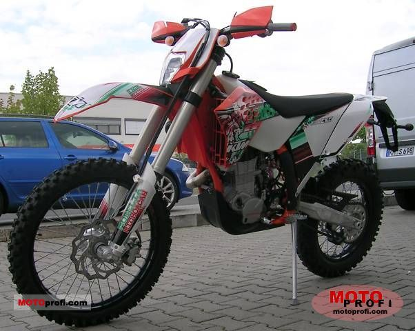 ktm 450 exc sixdays 2011 specs and photos