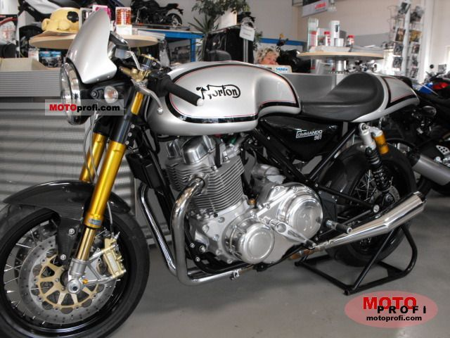 Norton Commando 961 Cafe Racer 2011 photo