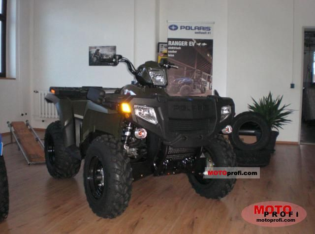 Polaris Sportsman 500 HO 2011 photo