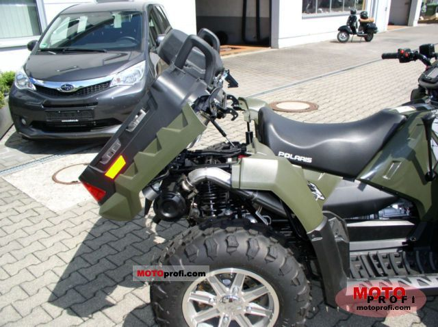 Polaris Sportsman X2 550 2011 Specs And Photos