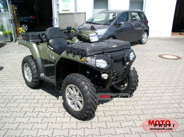 Polaris Sportsman X2 550 2011 photo