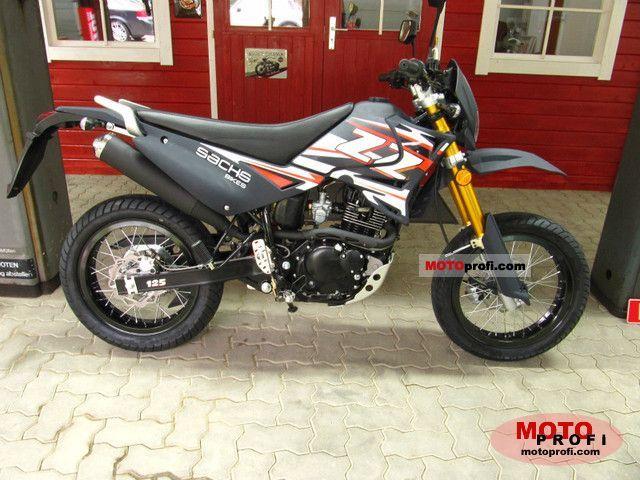 Sachs ZZ 125 Supermoto 2011 photo