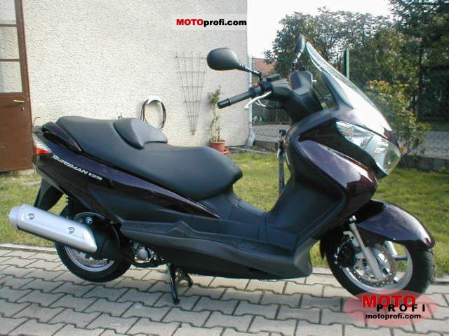 Suzuki Burgman 125 2011 photo