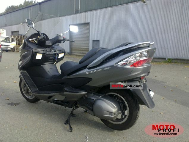 suzuki burgman 400 abs 2011 specs and photos