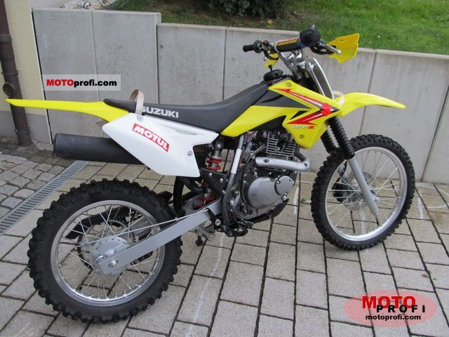 suzuki dr-z125 2011 specs and photos