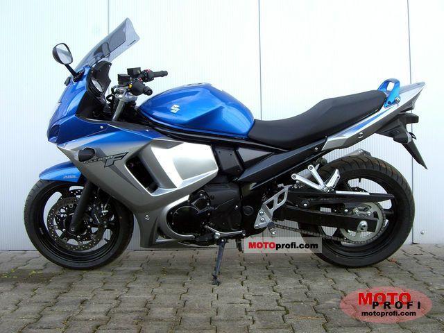 Suzuki gsx650f specs