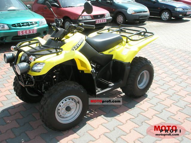 Suzuki Ozark 250 2011 Specs and Photos