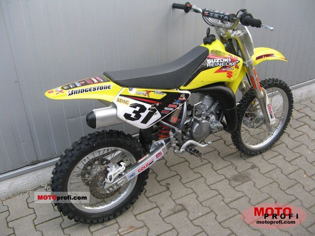 Suzuki RM85L 2011 Specs and Photos