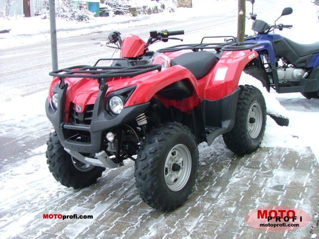 Sym Quad Raider 600 2011 photo