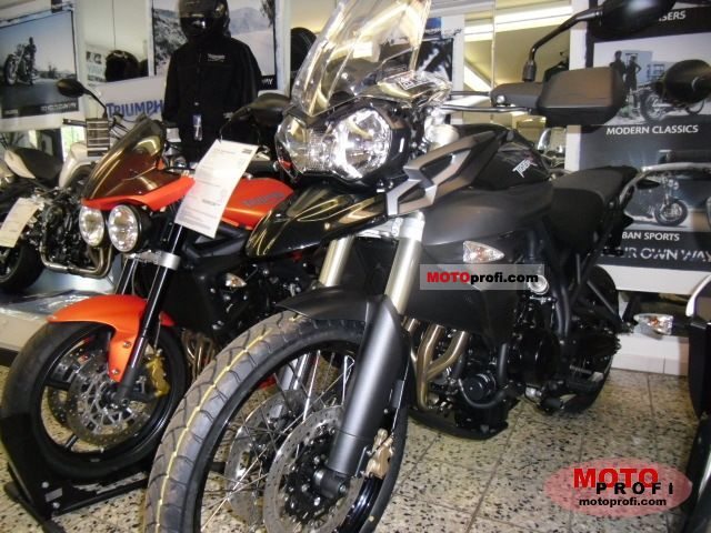 Triumph New Tiger 800 2011 photo