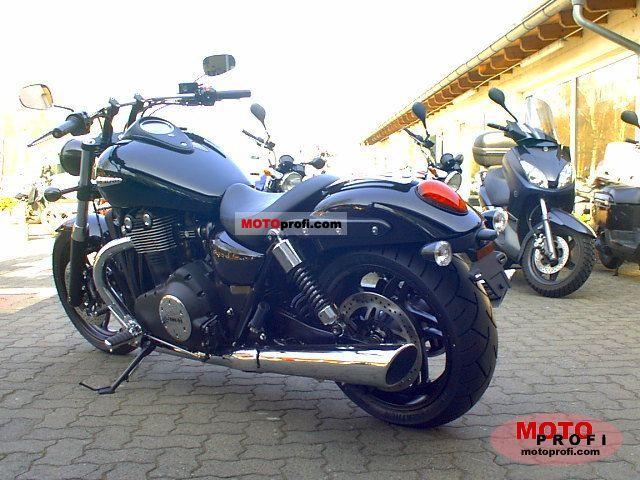 Triumph Thunderbird Storm 2011 Specs And Photos