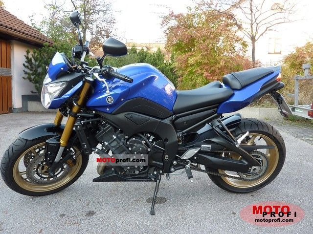 Yamaha FZ8 ABS 2011 photo