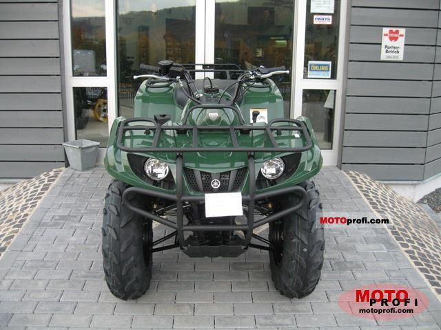 Yamaha Grizzly 350 2011 Specs and Photos