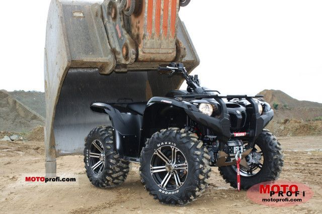 Yamaha Grizzly 700 2011 Specs and Photos